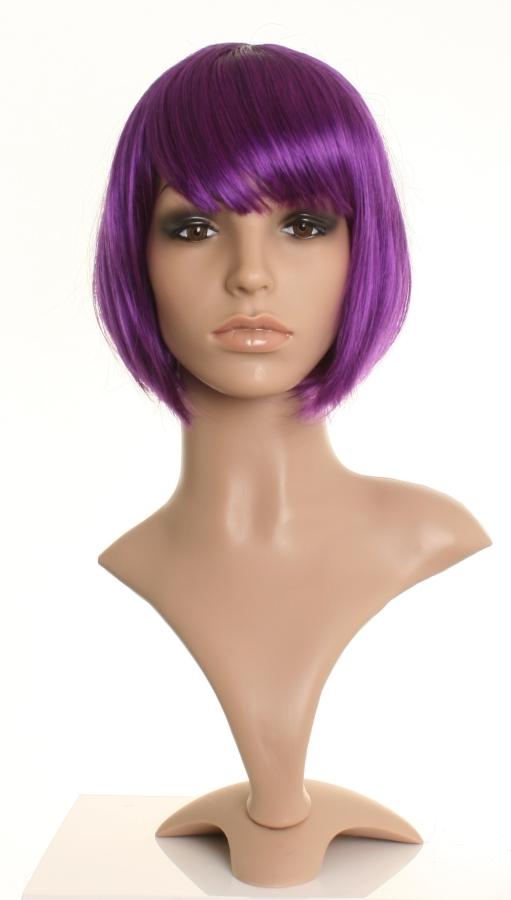 short purple bob wig chic 2 tone purple bob wigs uk