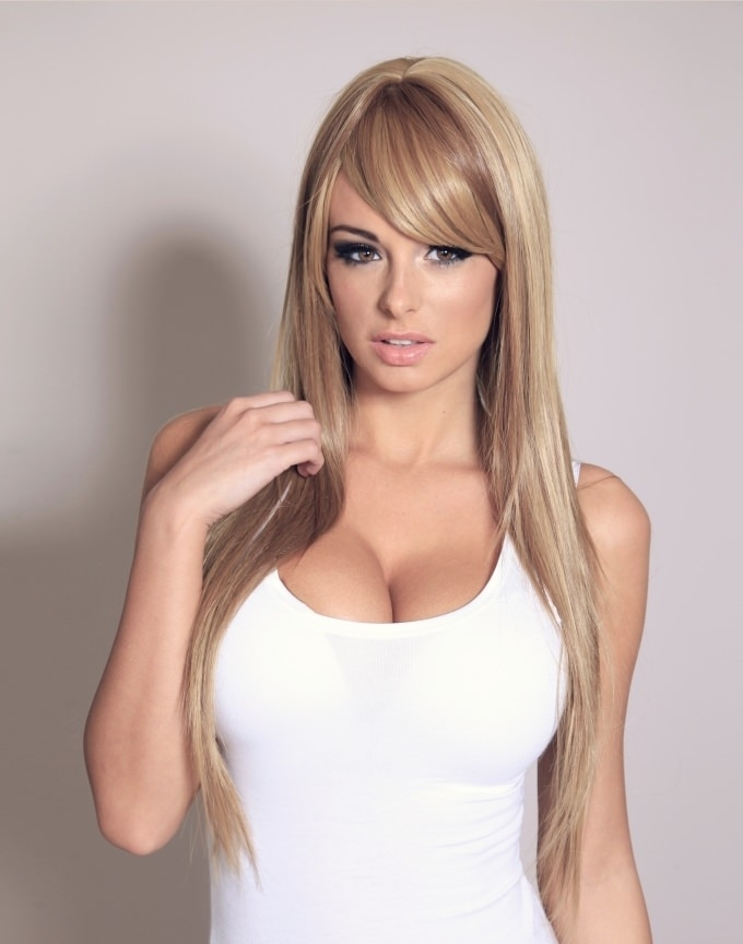 Ivory Extra Long Brown Wig With Blonde Highlights Very Long Wig Uk