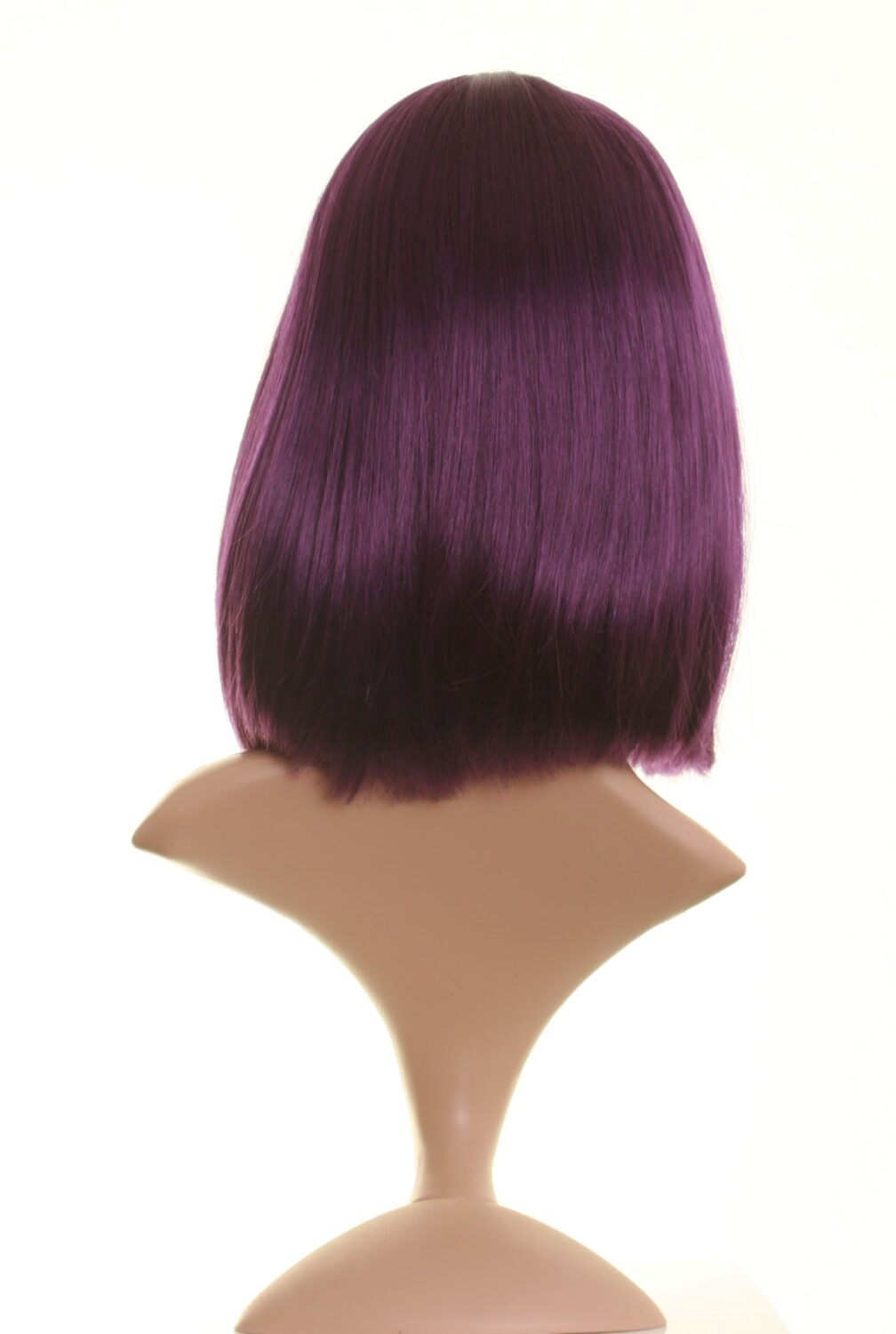 Dark Purple Wig Chic Dark Purple Bob Wigs Good Quality Uk