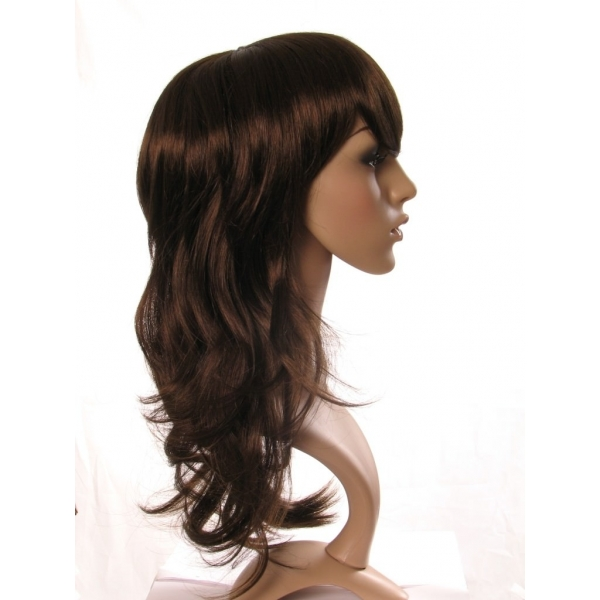 Kerry - Long brown wig with layers