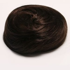 Sleek Messy Clip In Hair Bun Hairpiece (In a range of colours)
