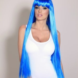 Zar - Extra long blue wig (Cosplay)