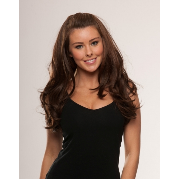 Invisi Weave Heat Resistant Half Wig (In a range of colours)