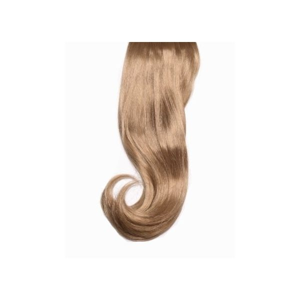 Curly Dark Blonde full head synthetic clip in hair extensions