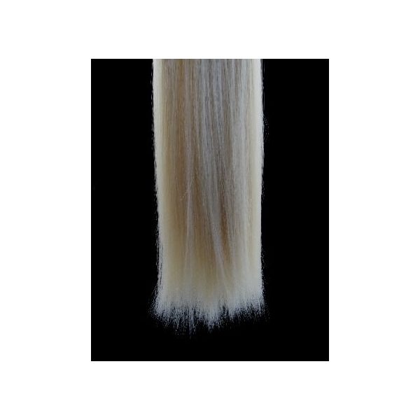 Straight Blonde one piece synthetic clip in hair extensions