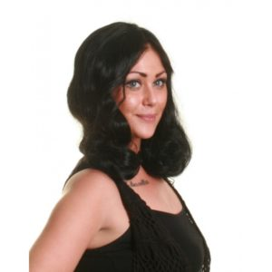 Curly_Mid_Length_Bob_Wig_Black_Wonderland_Wigs_UK