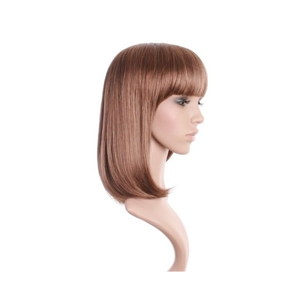 Jess Brown Wig With Blonde Highlights Brown Wig With Highlights