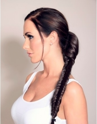Clip In Fishtail Plait Hairpiece (In a range of colours)