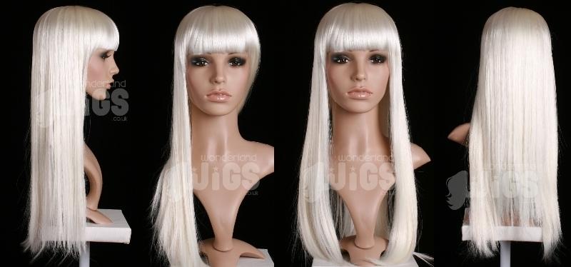 Extra Long White Wig Amazing Long White Wigs Buy Online Cosplay Uk