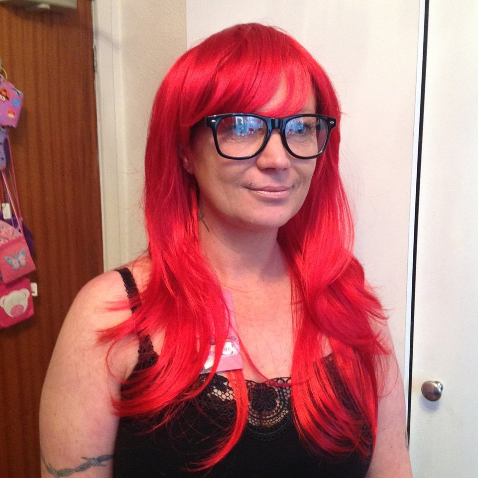 Bright Red Wig Stunning Layered Bright Red Wigs Buy Online Uk