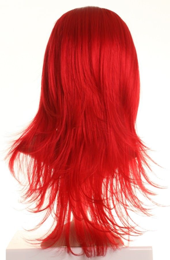 Butterfly - Long bright red wig (layered)