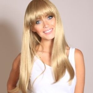 Fiona - Long medium blonde wig (2-tone blonde)