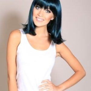Jade - 3-tone Blue Black and Green Aqua Wig
