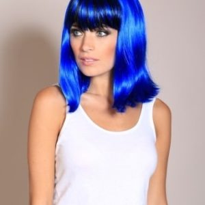 Ruth - Jessie J style blue and black wig