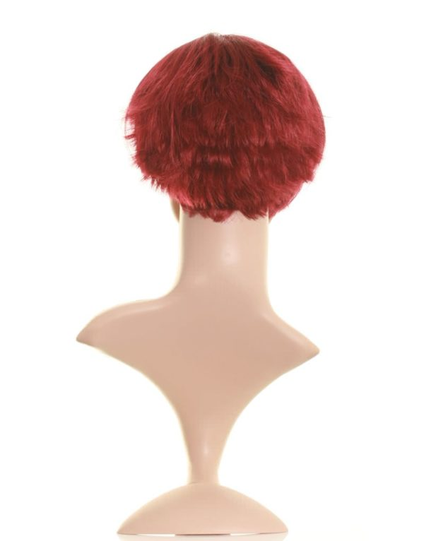 Ari - Dark red Victoria Beckham wig (choppy bob wig)