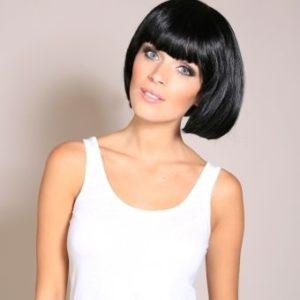 Coleen - Black bob wig