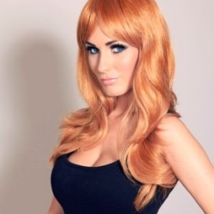 Zoe - Long Auburn ginger wig (layered)