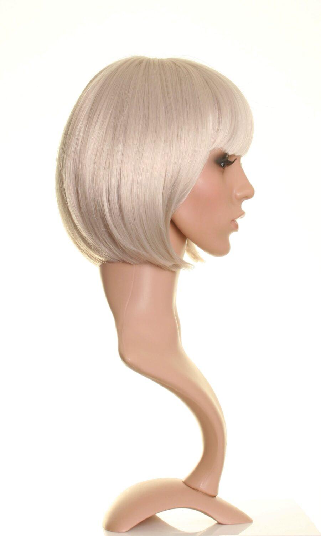 Grey Bob Wig Chic Short Grey Bob Wigs Buy Online Uk
