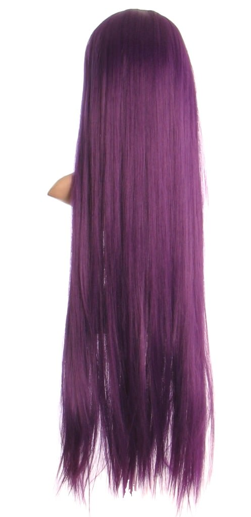 Paris - Extra long purple wig