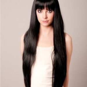 Rhiannon - Extra long black wig