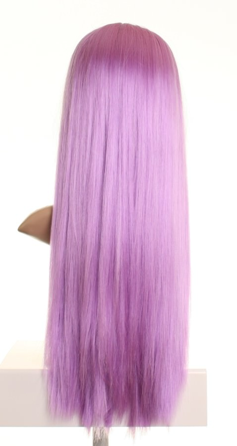 Sky - Extra long light purple wig