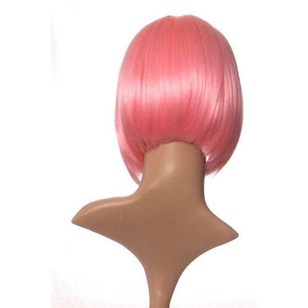 Chloe - Short baby pink bob wig