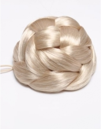 Braided Clip In Bun Hairpiece (In a range of colours)