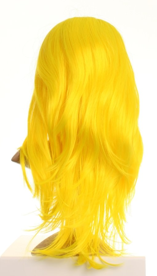 Spork - Bright Canary Yellow Cosplay Wig