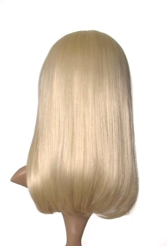 Suzie - Long blonde straight Lady Gaga style wig
