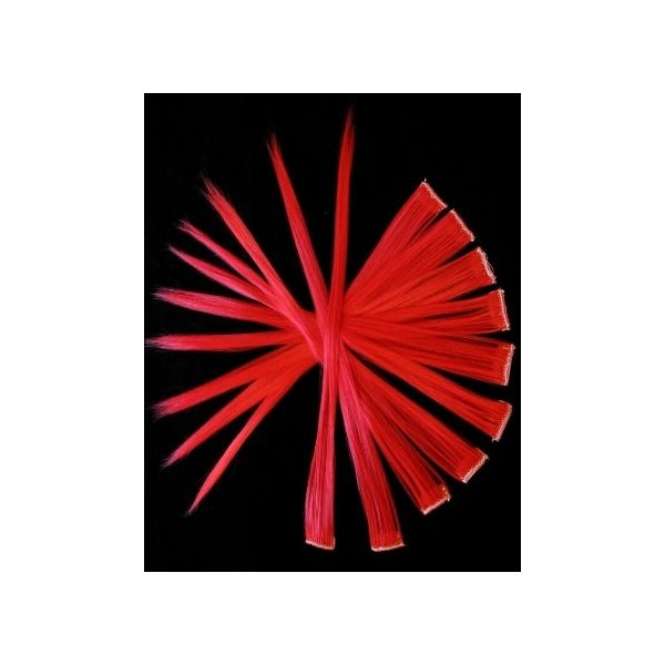 Bright Red Hair Extensions Synthetic Hair Extensions Buy Online Uk