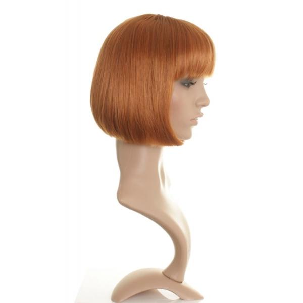 May Straight Ginger Bob Style Wig Wonderland Wigs