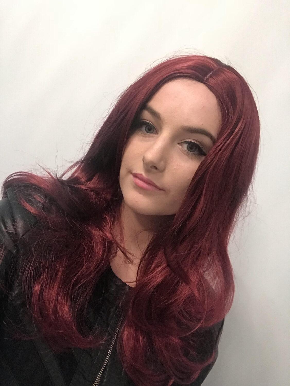 Wavy Red Wig Luxurious Wavy Red Wigs Buy Online Uk