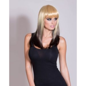 Rochelle - Blonde And Black Reverse Ombre Wig
