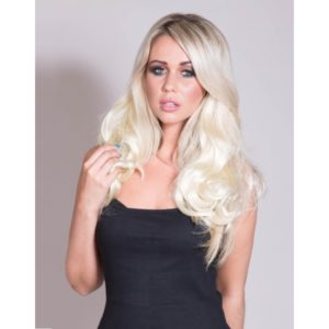 Wavy 3/4 Wig Half Wig Hairpiece