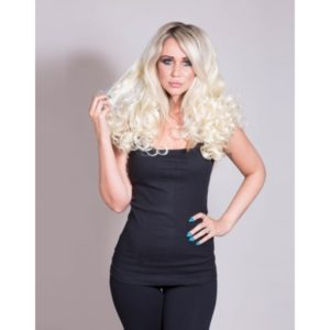 Curly 3/4 Wig Half Wig Hairpiece (In A Range Of Colours)